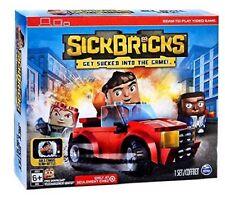Cool Games For Kids Sick Bricks Jack Justice Team Set Car & 3 Figurines 49