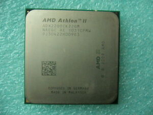 QTY-1x-AMD-Athlon-II-X2-220-2-8-GHz-Dual-Core-ADX220OCK22GM-CPU-Socket-AM3
