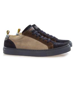 Sneakers-uomo-Manuel-Ritz-in-camoscio-bicolore-blu-e-grigia-Art-2732Q507-19388