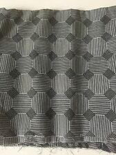 Black And White Cotton Fabric 34 X 44 Inches. Quilting/Crafts/Sewing
