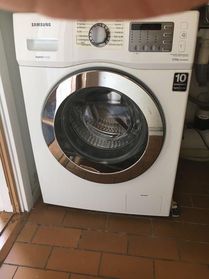 Samsung vaskemaskine, frontbetjent