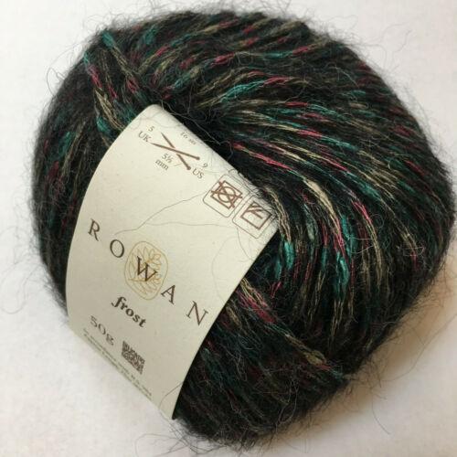 Knitting Yarn ~ Rowan Frost  50g balls viscose and alpaca blend YARN CLEARANCE