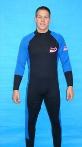 Wetsuit 3mm Rear Zipper Full Length - 6803 - 2X