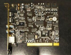 Terratec Scheda Audio  EWS 88D PCI con cavo MIDI