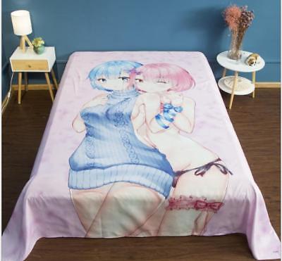 UnermüDlich Re:zero Kara Hajimeru Isekai Seikatsu Anime Bettlaken Betttücher Sheet Bedsheet