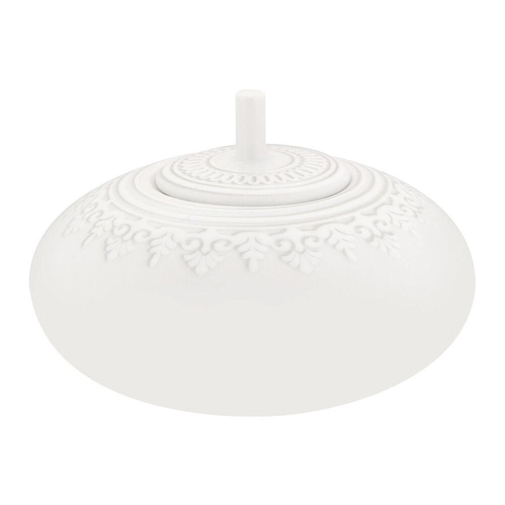 Vista Alegre Porcelain Ornement Sugar Bowl