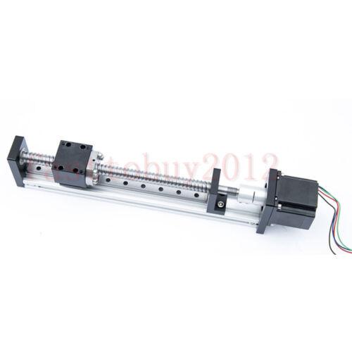 CNC Linear Rail Guide Slide Stage Actuator Ball Screw Motion Table Nema23 Motor