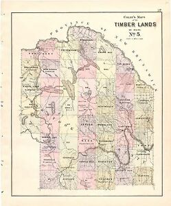 1887 Atlas Maine Maps State Colby County History Old Genealogy Dvd