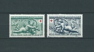 CROIX-ROUGE-1952-YT-937-a-938-TIMBRES-NEUFS