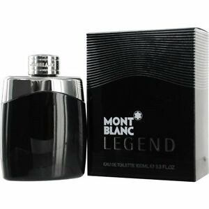 Mont Blanc Legend 3 3 3 4 oz Cologne for Men EDT Brand New In Box