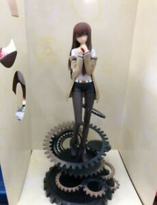 "8"" Anime Steins Gate Kurisu Makise Action Figure PVC Figurine Statue Toy"