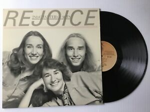 REJOICE-2nd-Chapter-of-Acts-1981-MINT-vinyl-LP-Sparrow-SPR-1050-bonus-CD