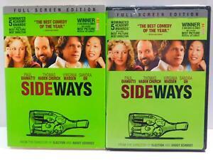 Sideways-DVD-movie-2005-Full-Screen-Paul-Giamatti-Thomas-Haden-Church