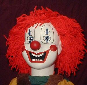 Haunted Clown Doll Eyes Follow You Creepy Halloween Poltergeist