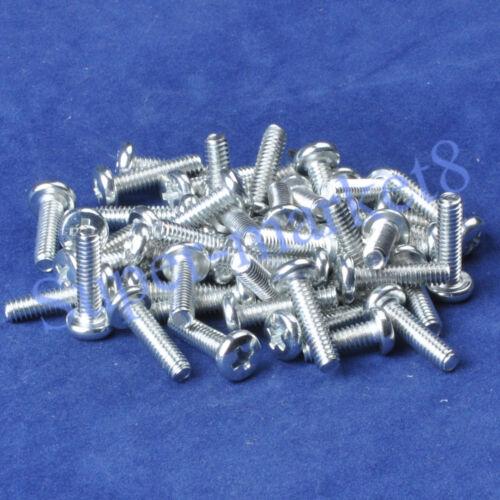 8-32 x5/8 Inch Machine Phillips Screw Pan Steel/Zinc*50 Electronic ...