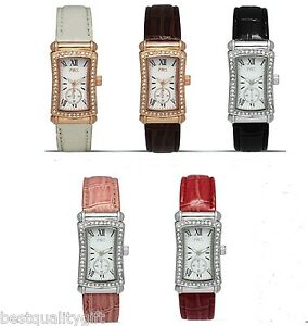 d43b201833a3b Image is loading MONTRES-CARLO-ROSE-GOLD-SILVER-BLACK-WHITE-FUCHSIA-