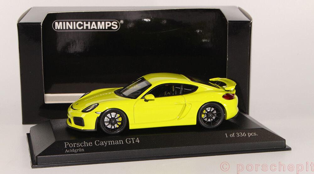 Porsche Cayman gt4 acidvert 1 43