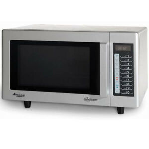 Image Is Loading Light Duty Microwave 20 Programmable Menu Settings Stainless