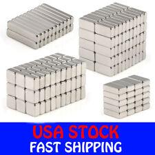 N35 Block Cuboid Rare Earth Neodymium Mini Fridge Strong Magnets Various Sizes