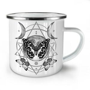 Moon Cycle Butterfly NEW Enamel Tea Mug 10 oz   Wellcoda