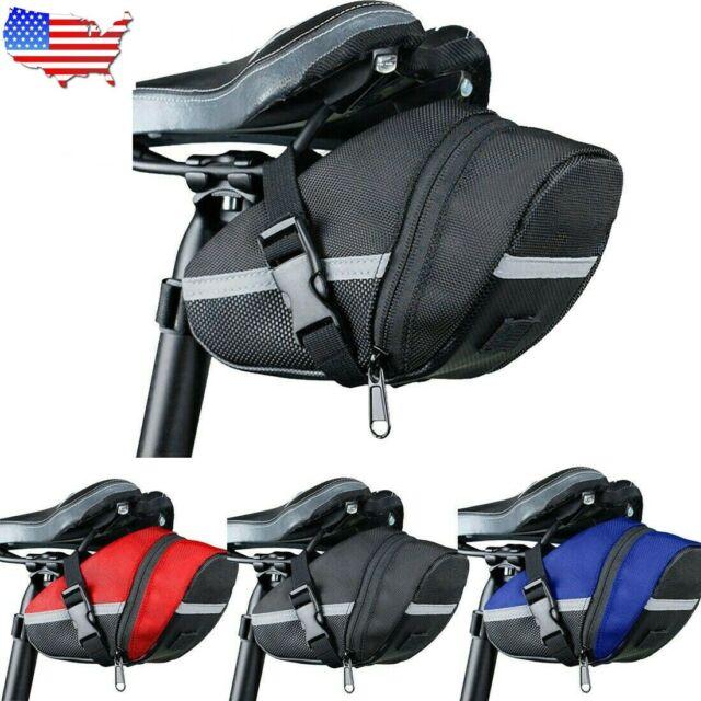 Bicycle Bike Saddle Bag Waterproof Cycling Tail Rear Bag Under Seat Storage Bag