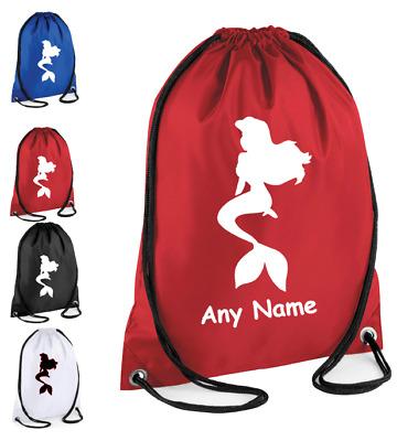 Personalised Kids Superman Drawstring Bag  School,Swimming Gym PE Picnic