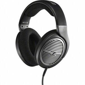 Sennheiser-HD-518-Cuffia-Stereo-Dinamica-Aperta-Circumaurale-Tecnologia-Duofol