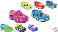 Infants Kids Girls Boys Clogs Beach Shoes Sandals Summer Clog Slippers Size 3-11