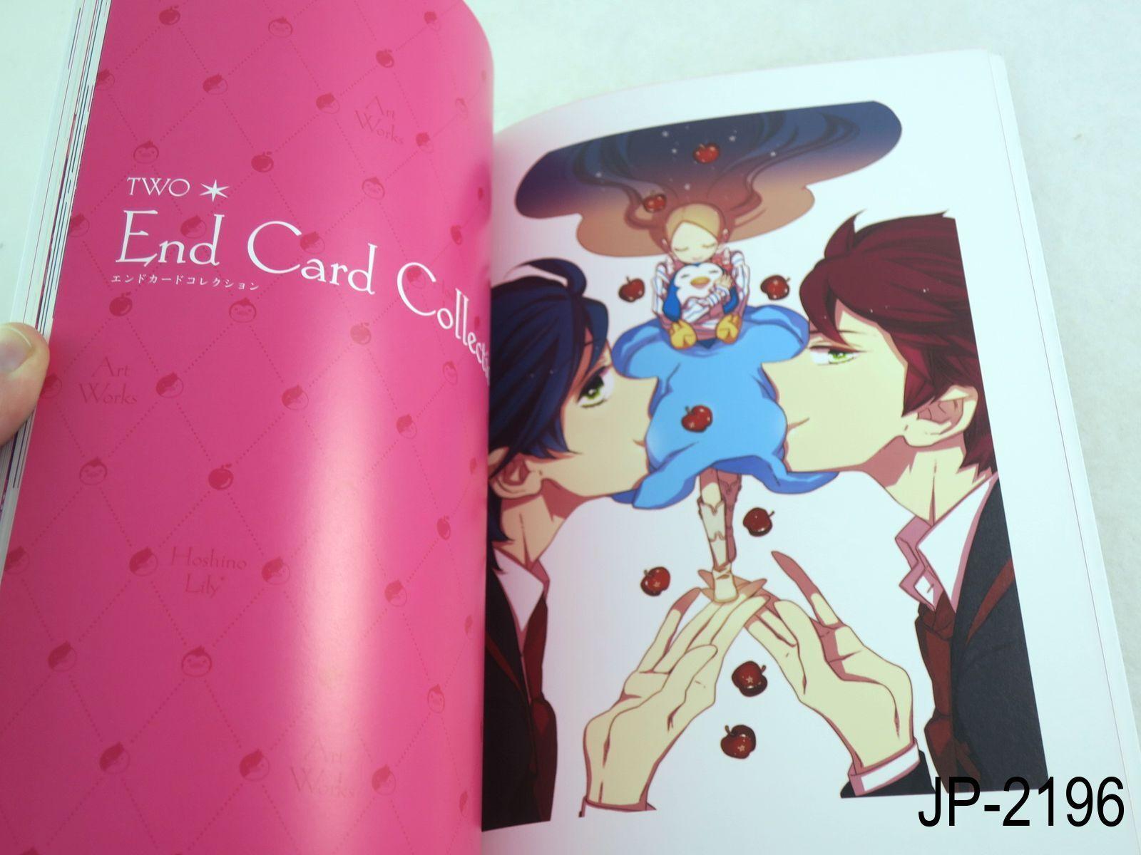 Penguindrum Hoshino Lily Art Works Mawaru Artbook Japanese Book US Seller