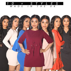UK-Women-039-s-Ladies-Dress
