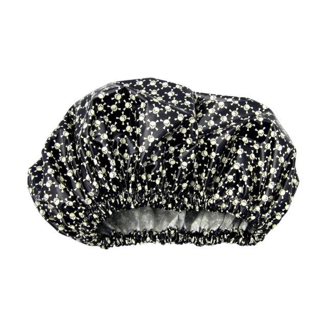 Extra Large Hair Dreadlock Shower cap Long Locs Dreds Braids Weaves Black Skulls
