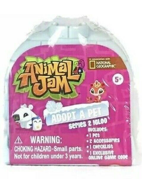 National Geographic Animal Jam Adopt A Pet Series 2 Ages 5 ...