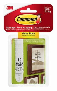 Command-17206-12ES-Picture-Hanging-Strips-Value-Pack-White-Large-12-Pairs