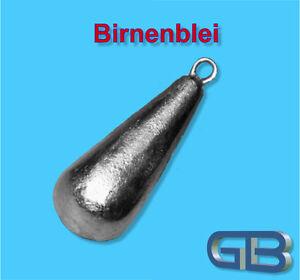 Birnenblei-mit-Ose-70g-Angelblei-Grundblei-Karpfenblei
