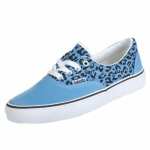 Animal Light 5 Womans Print Blue 1 Low Up Shoes 6 Top Sneakers 2 Lace Size Eq1ZR4x1