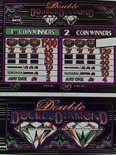 IGT S-Plus slot machine Double Double Diamond Game & Reel chip set 97 % payout