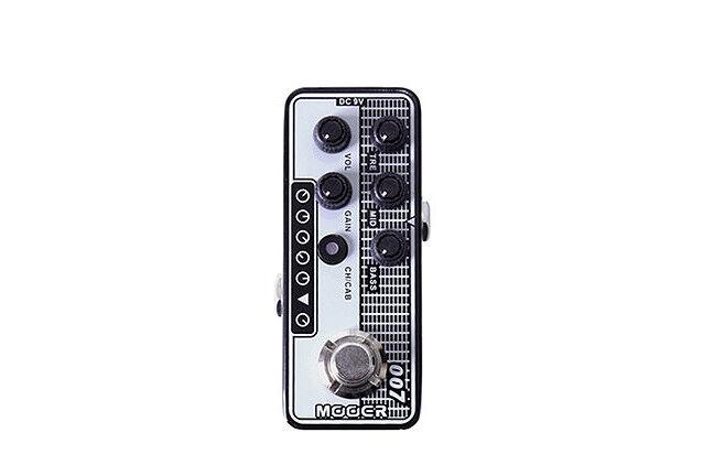 Mooer Micro Preamp Pedal - 007 Regal Tone  based on Tone King Falcom