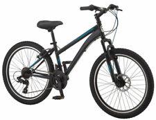 "Outdoor Exercise Bicycle 24/"" Schwinn Sidewinder Girl/'s Mountain Bike Purple New"