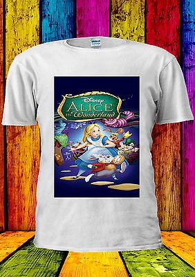 Disney Alice In Wonderland Rabbit Cat T-shirt Vest Tank Top Men Women Unisex 376 Elegant In Smell