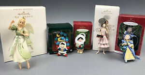 Hallmark-Angels-Eskimo-Carlton-Cards-Chocolate-Keepsake-Ornaments-Gift-Lot