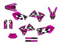 2001 2002 Ktm Exc 125 250 450 525 Graphics Sticker Kit No2500 Pink