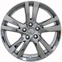 Set (4) 18x7.5 Fits Nissan Altima Chrome Replica Wheels Rims 18 Infiniti
