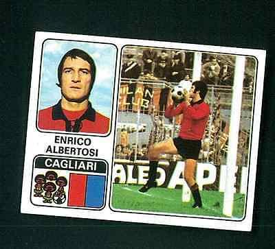 NUOVA CAGLIARI N.66 ALBERTOSI FIGURINA CALCIATORI PANINI 1972//73