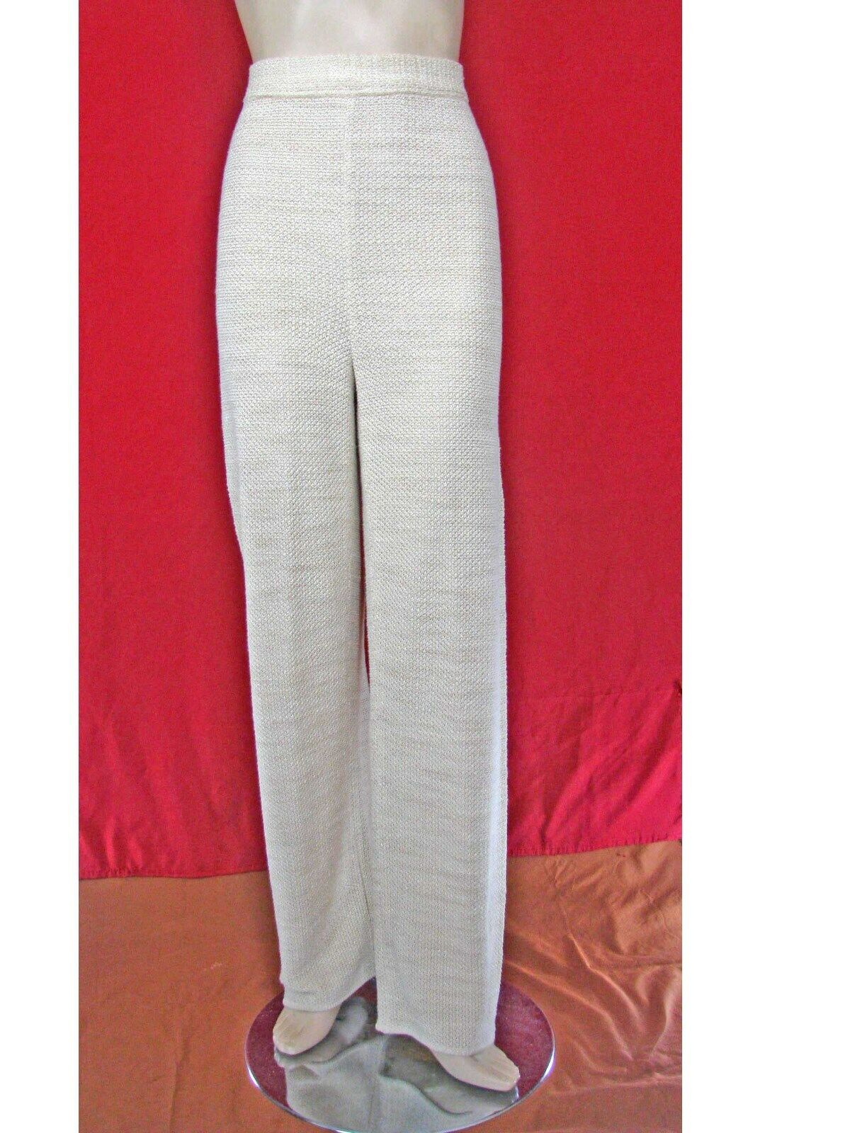 Vtg Escada Margaretha Ley Knit Pants Made in Germany sz 40