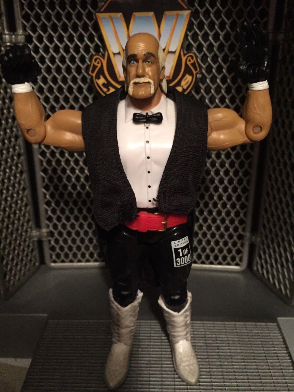 WWE Hulk Hogan wrestling figure Classic Superstars HOF Ceremony AWA NWO WCW Toy
