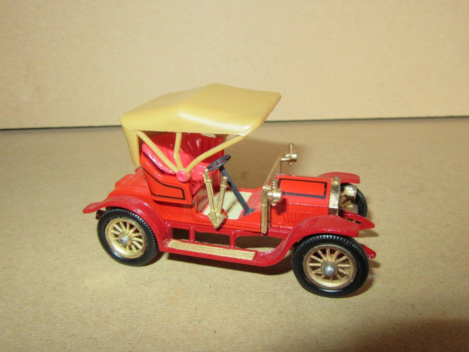 952h selten matchbox limitierten edition opel - coup é 1909 rot