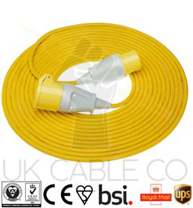110V 10m Cable de extensión plomo 16 Amp 110 voltios 1.5mm 3c alimentación del sitio del Ártico Flex