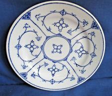 Servierplatte oval 33 cm Kahla Tradition Blau Saks Strohblume