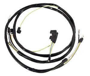 1964-65 ford mustang alternator wiring harness - w/ 289 & 260 v8 with  generator   ebay  ebay