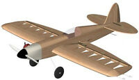 Radian Control Line Balsa Wood Model Airplane Kit W/lasercut Parts Vintage Model